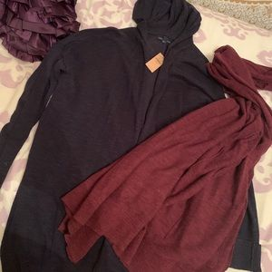 2 brand new, never warn, American eagle cardigans